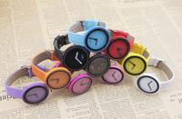 2014 New Brand High quality Quartz Leather Wrist Bracelet No Second Hand Dress Watch.Fashion Ladies Clock Hours.Relogio Feminino