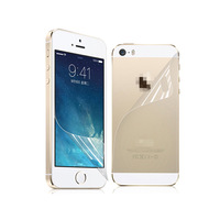 3X Front + Back Screen Protector Ultra Film HD Clear LCD Guard for iPhone 5 5G 5S