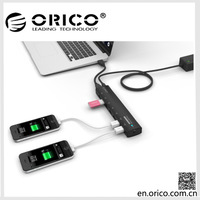 ORICO AS7C2 7 port USB3.0 HUB with power Splitter Adapter support Bc1.2 Charging For PC Laptop computer peripherals freeshipping