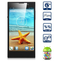 2014 5.0 Inch V3 Android 3g Smartphone Mtk6582 Quad Core 1.3ghz 1gb Ram 16gb Rom Hd Ips Screen 13.0mp Camera Gps Cell Phones