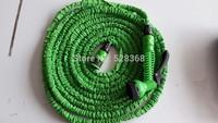 free shipping,100FT Garden water Hose expandable flexible hose Garden + water nozzle gun,green /blue in stock