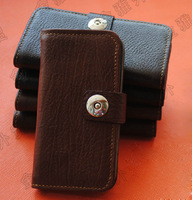 genuine leather case for SHARP SH-04F leather case flip cover