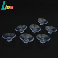 Wholesale 200pcs/lot PVC Transparent 3.5cm 4cm 5cm 5.5cm Strong Round Suction Cup Sucker For Car Glass Decoration