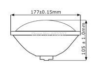 Hot sale-Excellent Quality Waterproof 20W IP68 Par56 led  waterproof color light with CE RoHS patent-201120512723.1