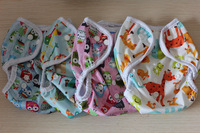 Free Shipping Printed Cloth Nappy Cover For Baby One Size Fits All Unisex Wholesale