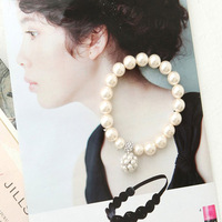 Accessories big all-match pearl ball bracelet pearl strawberry ball diamond bracelet