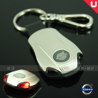 Free shipping VOLVO is VOLVO with lamp series of car key ring/buckle S40S80LS80C30XC60XC90 Christmas