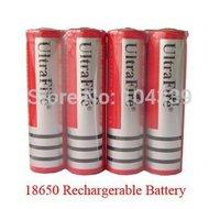 4PCs/lot Ultrafire 18650 Battery 3.7V 3000 mAh Lithium li-ion Camera Flashlight Torch Battery 18650 rechargeable Battery