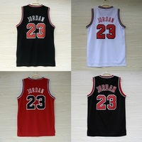 Chicago 23 Michael Jordan Basketball Jersey, Cheap MESH Red White Black (4 Kinds) Michael Jordan Jersey, S-XXL Free Shipping