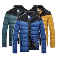 2014 NEW Down & Parkas Winter Jacket  Men's padded jacket Men Jacket collar Slim Men's thick Winter coat cotton jacket Men