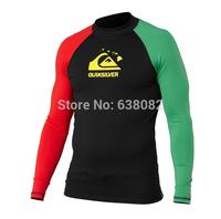 New Fashion Wetsuit Men Sun protection UPF 50+ Rash Guard Top Diving Suit Men's Swimwear for Windsurf Surf Snorkeling Sun Beach