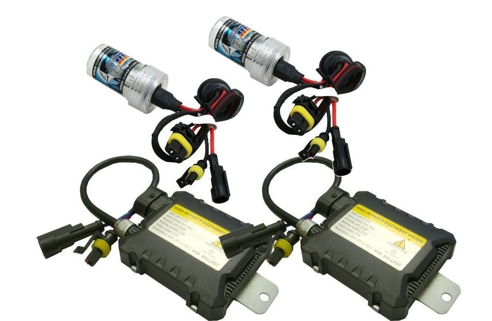 Car light xenon hid kit 35w h1 h3 h4 h7 h10 9005 9006 D2S 4300k-12000k lamp for ford foucs 2 focus 3 kuga Ecosport Fiesta(China (Mainland))