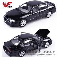 Maisto 1:24 Scale Chevrolet 2004 Impala SS Black Car Model