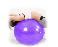 Anti-burst 65CM Exercise Fitness Balance Pilates Massage Yoga Ball With Spots Fitness Ball Exercise Ball Gym Ball With Air Pump