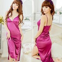 Free Shipping Sexy Lingerie Custume Sleepwear Nightgown Babydolls women long multi -piece pajamas sexy 458