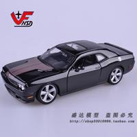 Maisto 1:24 Scale Dodge Challenger SRT 8 Muscle car alloy car model - Black,Silver,Orange