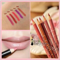 (Minimum Order 10$) Waterproof Professional Lip Liner Pencil Long Lasting  5 Colors 16CM Lip liner pen makeup 1.9g