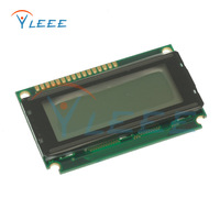 5pcs 20x4 LCD Modules 2004 LCD Module with LED gray Backlight Blacj Character Free Shipping Dropshipping