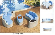 outdoor furniture rattan sofa set garden sofa set(China (Mainland))