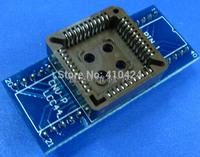 (2pcs/lot) PLCC44 to DIP40  IC testing seat adapter Programmer adaptation seat
