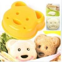 Hot sale Little Bear Shape Sandwich Bread Cake Mold Maker DIY Mold Cutter Craft  #H0210