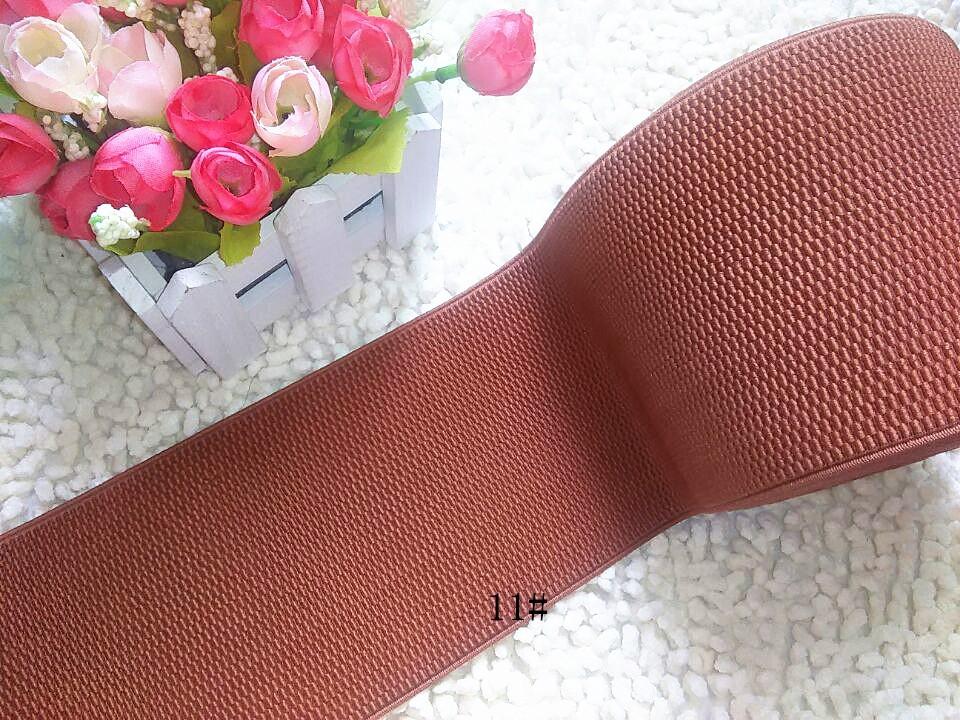 10 cm wide elastic colour The waist elastic sealing Joker fashion elastic waistband elastic DIY garment accessories mei red(China (Mainland))
