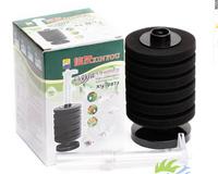 Free shipping Fish Tank Aquarium Cylinder Black Multilayer Bio-Sponge Filter