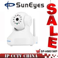 SunEyes  ONVIF Wifi Dome IP Camera Wireless 1.0MP 1280*720P  IR Night Vision Mini Size P2P PLug Play Indoor Use SP-Q702W