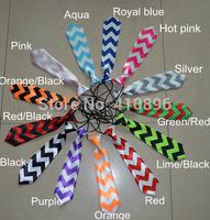 2014 baby necktie kids tie zigzag necktie chevron pattern necktie