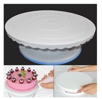 Hot sale Rotating Revolving Cake Sugarcraft Turntable Decorating Platform Stand #H0301