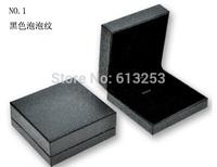 Customized High-grade Earrings Box  Plastic Jewelry Box Black Gift Box. Min. Order 500pcs  Free Printing Logo   ID SFBH12