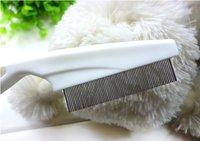 Hot sale Free shipping Pet dog cat Fine-tooth comb azriel Flea comb #H0160