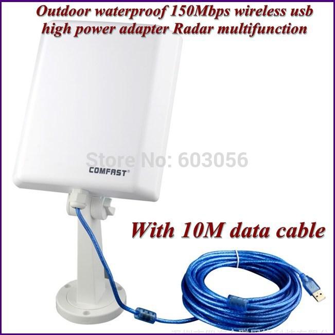 COMFAST CF-N10 150Mbps wireless usb high power adapter Radar multifunction 10pcs DHL free shipping(China (Mainland))