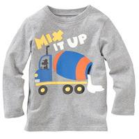boy cartoon cotton T-shirt-Mixer