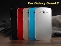 2014 New For Samsung Grand 2 Case - Aluminum alloy Metal Case for SAMSUNG GALAXY GRAND2 G7102 G7106 G7108 G7109 Free shipping