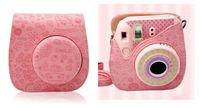 Leather Cartoon Camera Case Bag For Fujifilm Fuji Instax Mini8 Mini 8 Mini 8s + Free shipping
