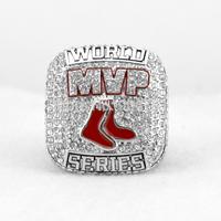 Free shipping rhodium plated replica  MLB 2013 Boston Red Sox Baseball World Series Championship Ring size 11-Ortiz 34