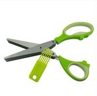 Stainless steel kitchen scissors shredded paper dumpling scissors