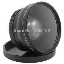 0.45x 52MM Fisheye Wide Angle Macro Lens for Nikon D3200 D3100 D5200 D5100 LF036