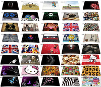 Hot Many Designs Multi-element Silicon Anti-slip Mousepad Computer Mouse Pad Mat For Optical Laser Mice Trackball Mouse