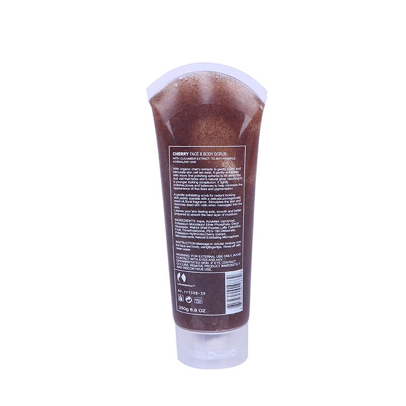 herries facial scrub body 250 g peels to die PiLian facial purify dark heavy dead skin cells shower tea body shower gel(China (Mainland))