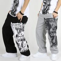 New Tide Men's Street Hip Hop Pants Casual Loose Trousers Skateboard Sport Pants Brand Sweatpants Plus Size M XXXL Free Shipping