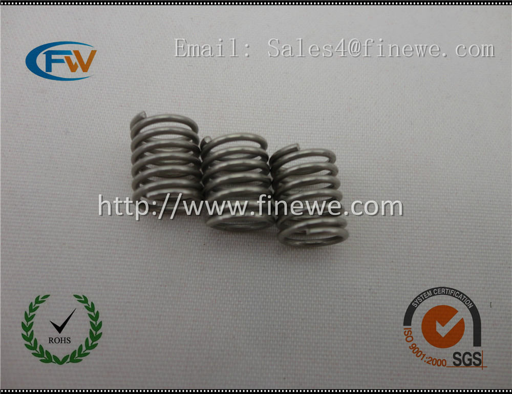 Manufacture Custom stainless steel sanitary ware spring ,precision sanitary fitting springs for shower caddy(China (Mainland))