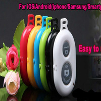 Wholesale 20 Pcs/Lot Universal Bluetooth Remote Shutter Camera Control Self-timer Shutter for iPhone Galaxy