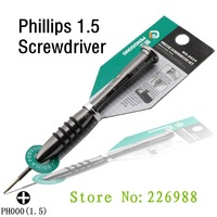 Phillips screwdriver Top quality Cross 1.5mm (PH000) screwdriver for Repair Tool iphone 4 4G 4s 10 pcs/lot