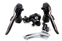 2014New microSHIFT bicycle bike cycing double 10 speed CENTOS-BLK Group Set, front rear derailleur