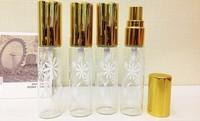 10ml Metal Perfume Fragrance Oil Atomizer spray Bottle / glass bottle spray