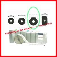 Standard white lens blocking pads big size 24mm