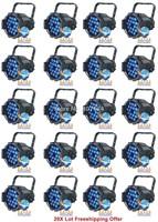 20X LOT Freeship 18pcs*9W High Brightness RGB 3in1 Tri Colo LED  Par Can,LED King Par Light,Stage Par Light For Stage Event