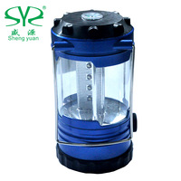 Shengyuan outdoor camping lamp lighting lamp 12led tent light small lantern 0.2kg